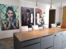 Büro Theke